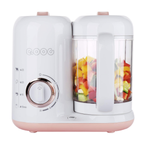 best baby food processor 2021 QOOC 4-in-1 Baby Food Maker Pro