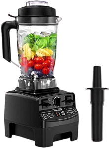 Blender 1450w, Homgeek Professional Countertop Blender Smoothie Maker with 68oz BPA Free Tritan Container