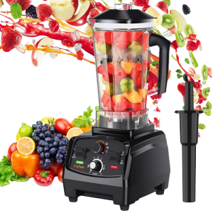 COLZER Professional Countertop Blender with 2200-Watt Base, Smoothie Blender
