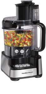 Hamilton Beach 12-Cup Stack & Snap Food Processor & Vegetable Chopper