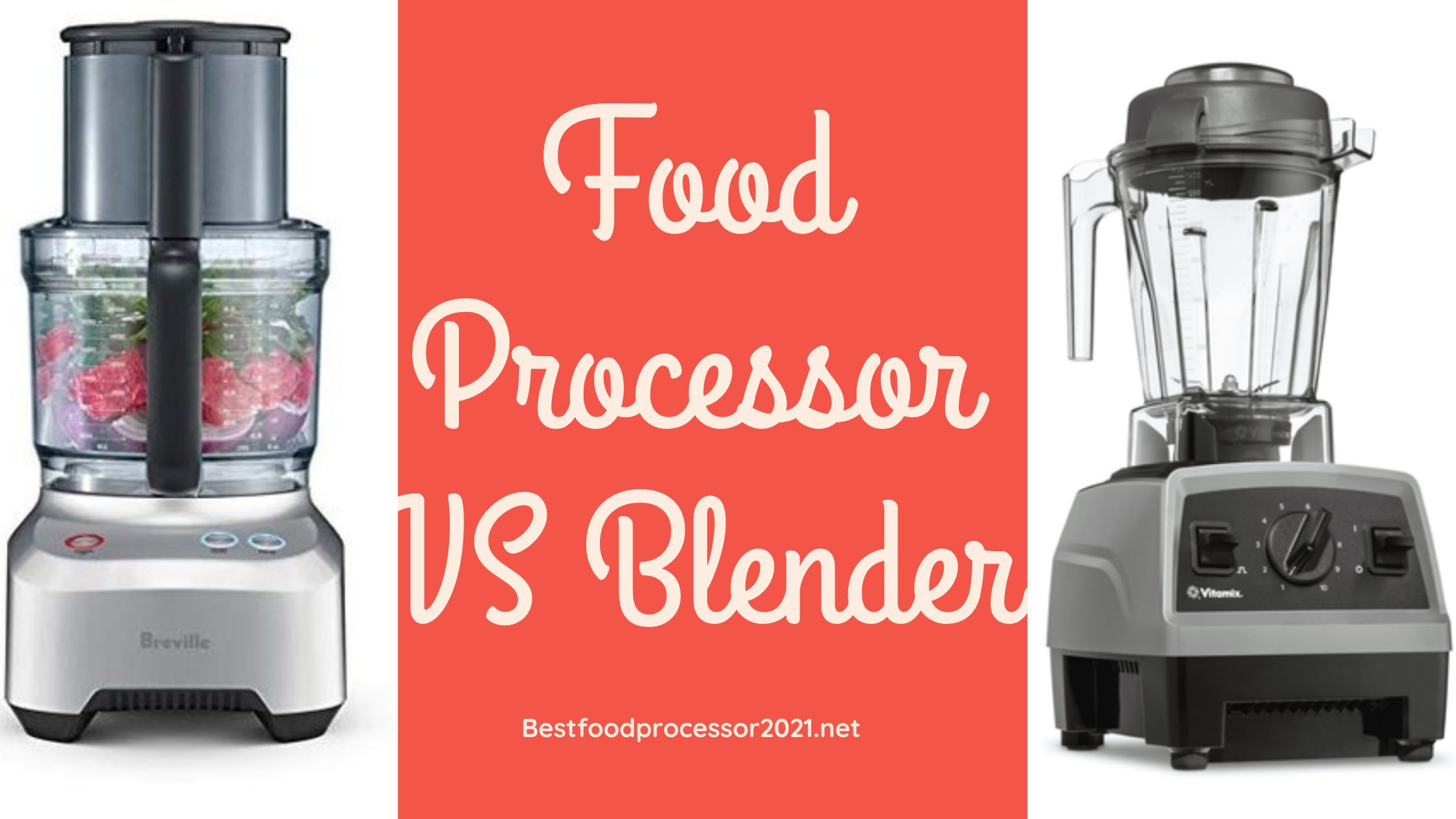 What Is The Difference Between Food Processor And Blender?