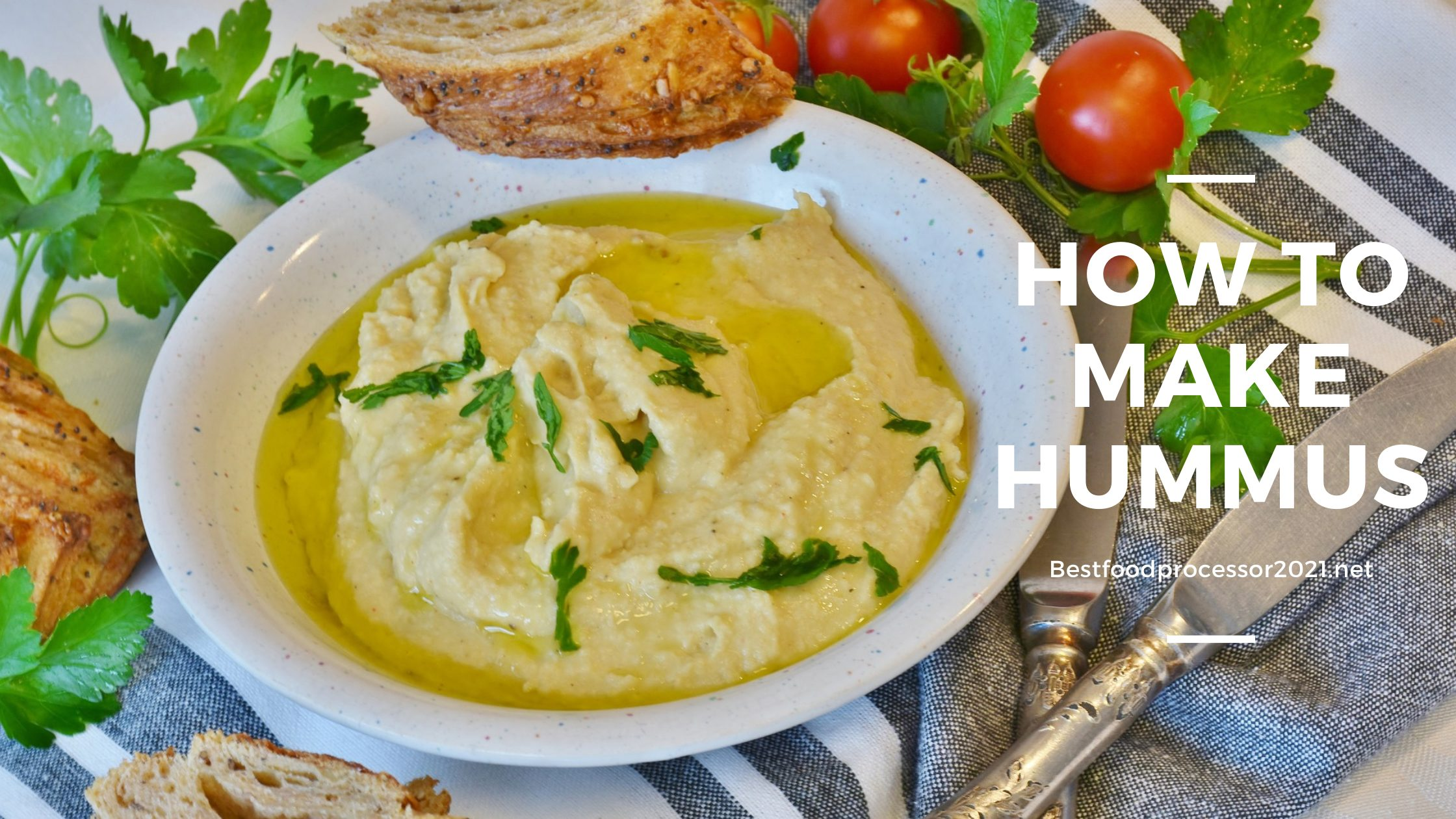How to make hummus